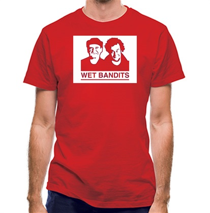 CHEAP Wet Bandit Wanted Poster classic fit. 25414498813  Novelty T-Shirts