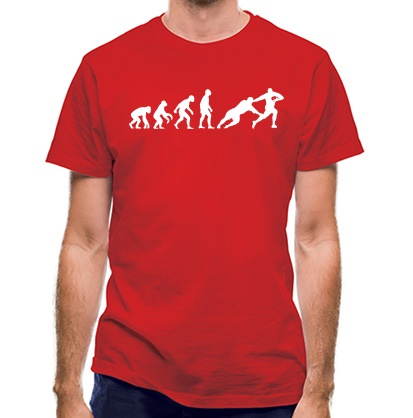 CHEAP Evolution of Man Rugby classic fit. 25414492325  Novelty T-Shirts