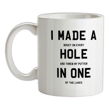 CHEAP I Made A Hole In One mug. 24074191783  Novelty T-Shirts