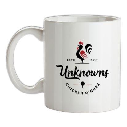 Chicken Dinner mug.
