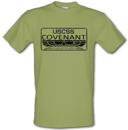 USCSS Covenant male t-shirt.