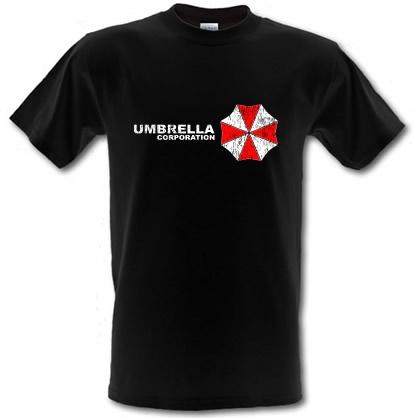 Umbrella Corp. male t-shirt.