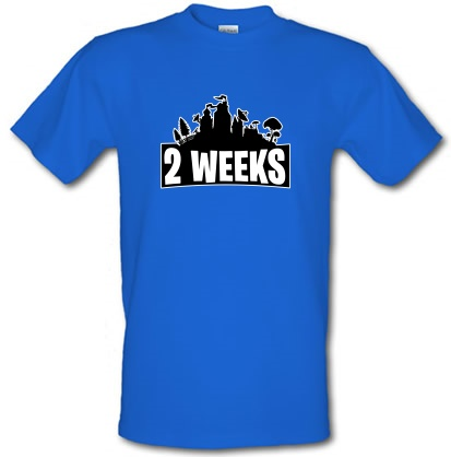 2 weeks male t-shirt.