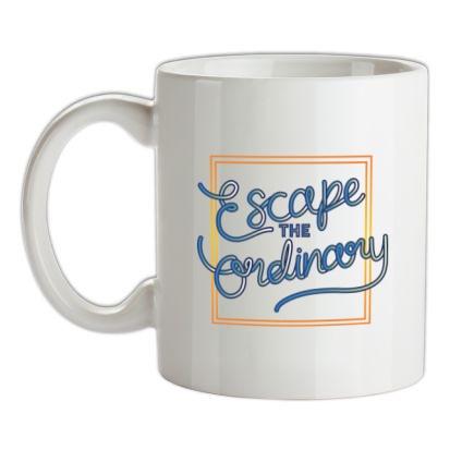 Escape The Ordinary mug.