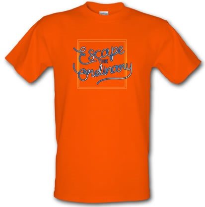 Escape The Ordinary male t-shirt.