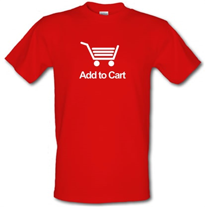 Add To Cart male tshirt.