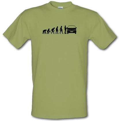 Evolution of Man T4 Campervan male t-shirt.