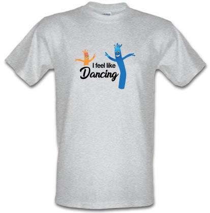 I Feel Like Dancing male t-shirt.