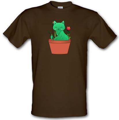 Catcus male t-shirt.