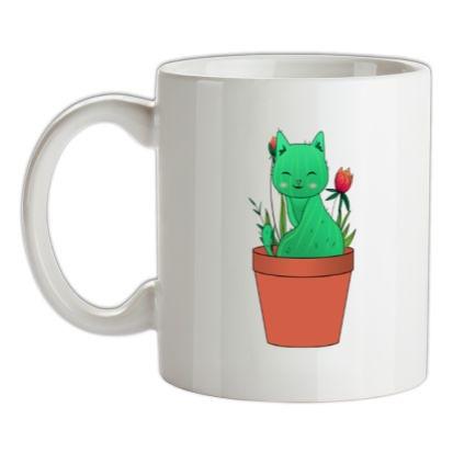 Catcus mug.