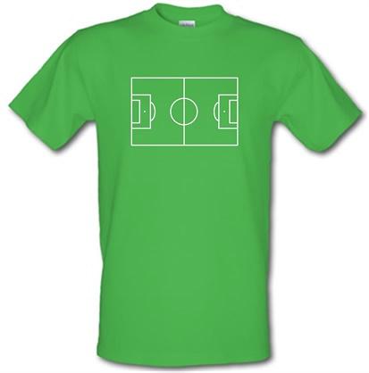 Football Pitch male tshirt.