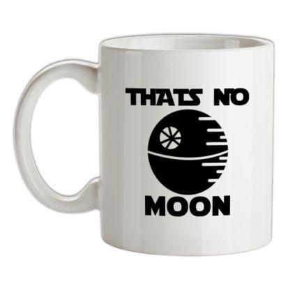 That's No Moon mug.