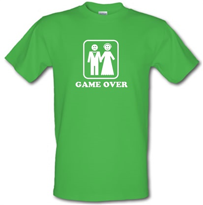 Game Over male t-shirt.