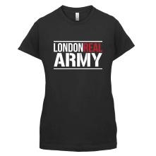 London Real female t-shirt
