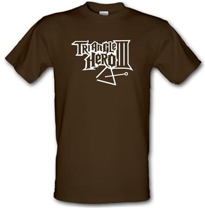 Triangle Hero III male t-shirt.