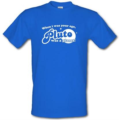 pluto planet t shirt-#2