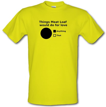 meat loaf chart