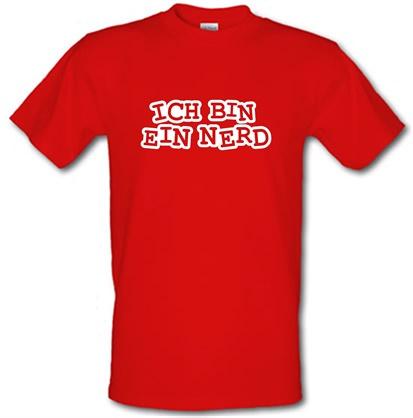 Ich Bin Ein Nerd male t-shirt.