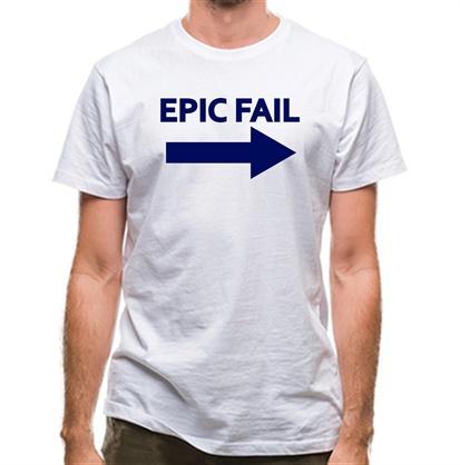 Epic Fail classic fit.
