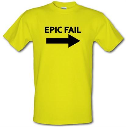 Epic Fail male t-shirt.