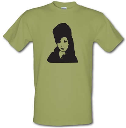 Amy Winehouse male tshirt.