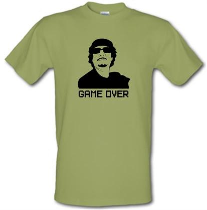 Game Over Gaddafi male t-shirt.