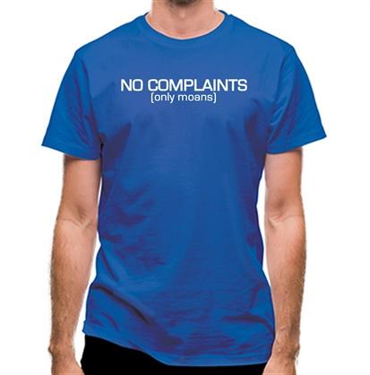 No Complaints (Only Moans) classic fit.