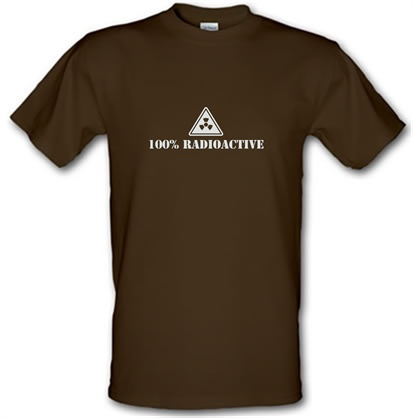 100 Percent Radioactive male t-shirt.