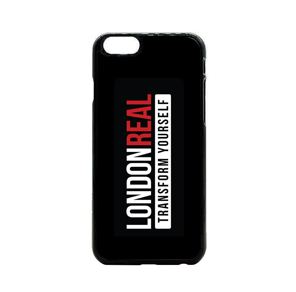 London Real iPhone case
