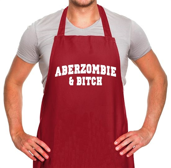 Aberzombie & Bitch Apron