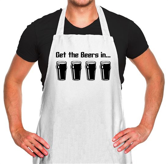 Get the beers in Apron