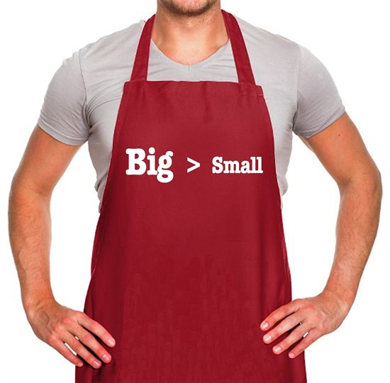 Big Small Apron