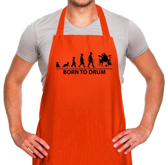 Born To Drum Apron