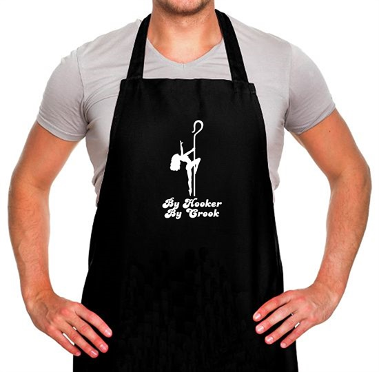 By Hooker By Crook Apron