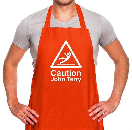 Caution John Terry Apron