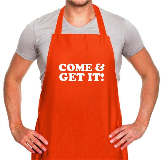 come and get it! Apron