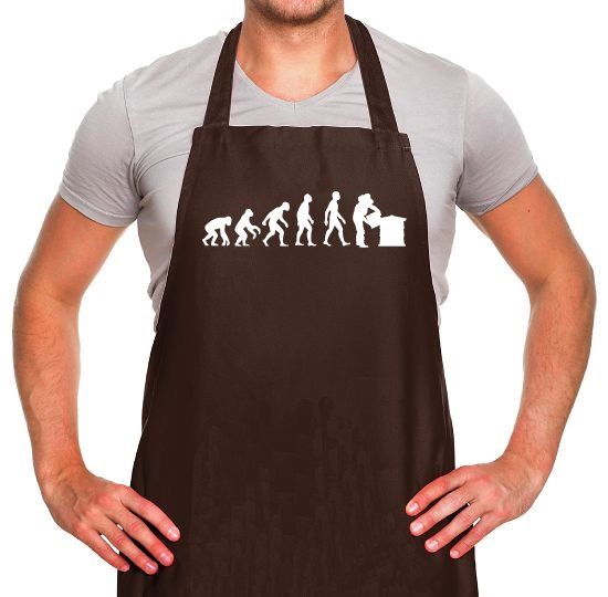 Evolution Of Man Bee Keeper Apron