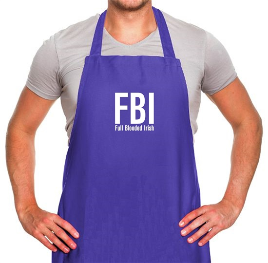 FBI Full Blooded Irish Apron