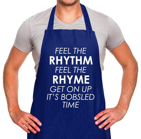 Feel The Rhythm, Feel The Rhyme Apron