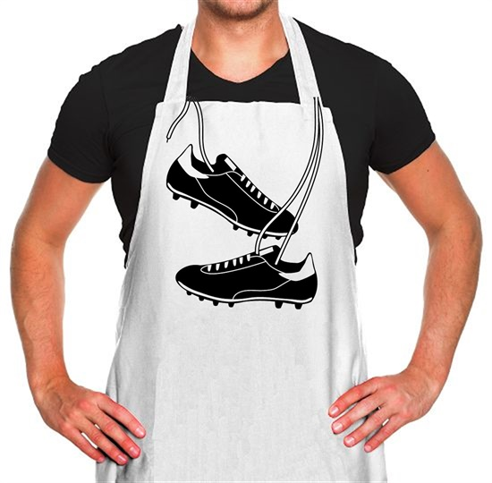 Football Boots Apron
