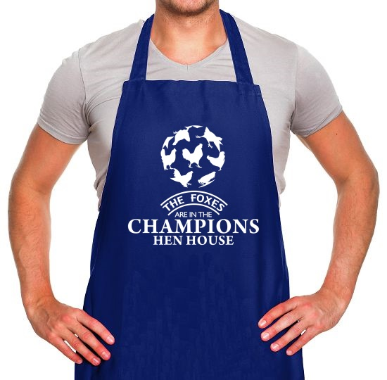 Foxes in the Champion's Henhouse Apron