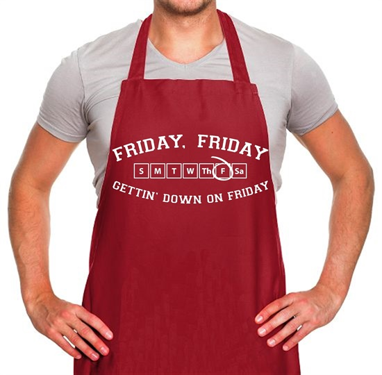 Friday Friday Gettin' Down On Friday Apron