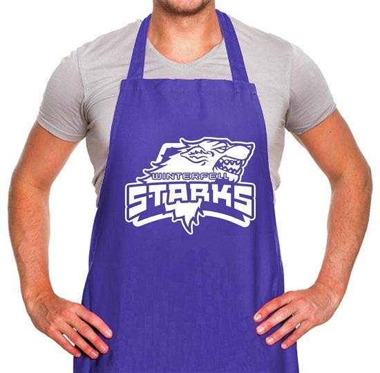 Game Of Thrones - Team Stark Apron