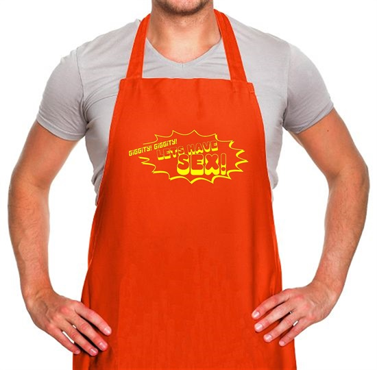 Giggity Giggity Lets Have Sex! Apron