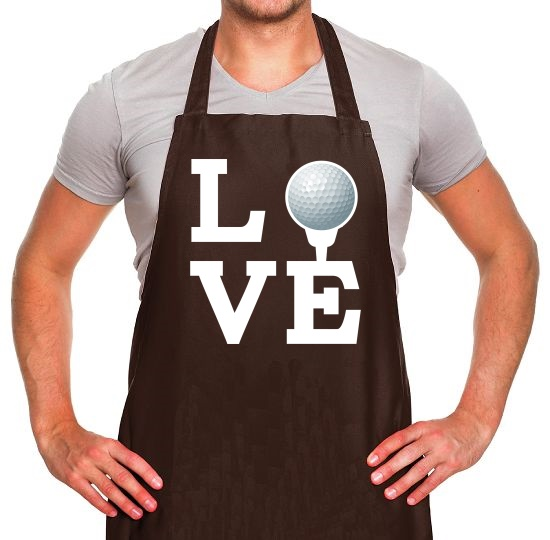 Golf Love Apron