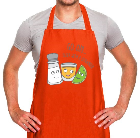 Go On... Sleep With a Stranger Apron