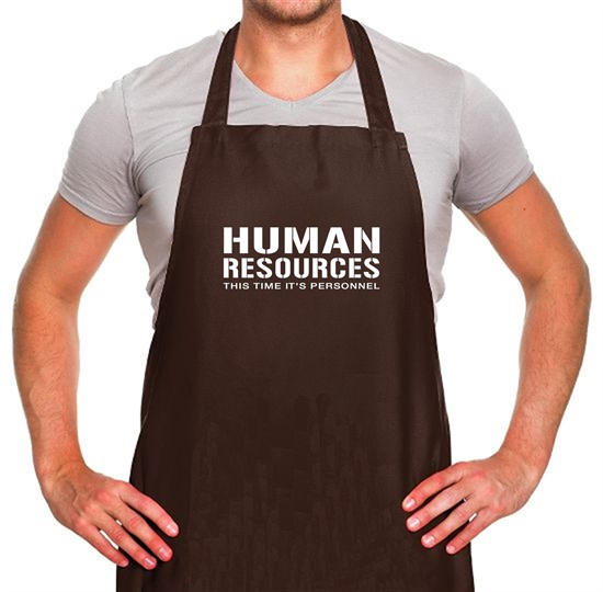 Human Resources This Time It's Personnel Apron