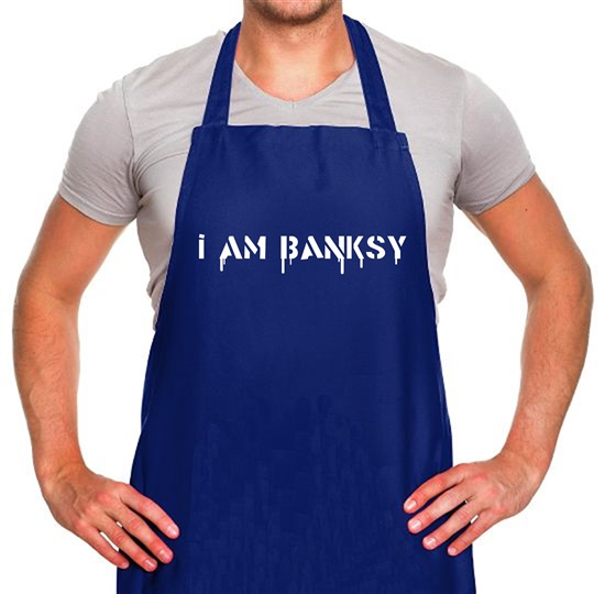 I Am Banksy Apron