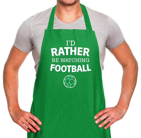 I'd Rather Be Watching Football Apron