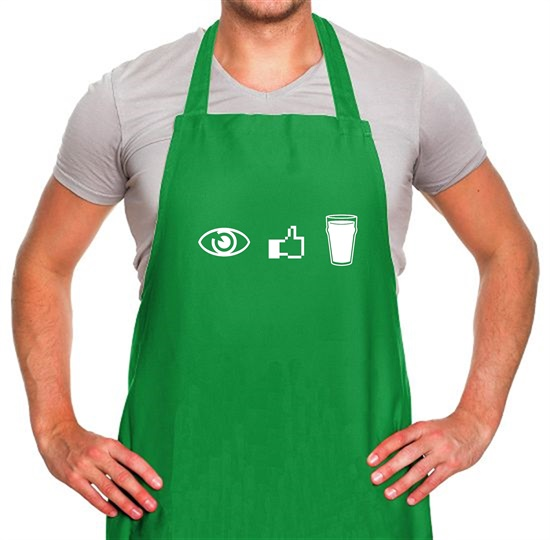 I Like Beer Apron